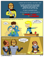 Secret Lives of Klingons! by woohooligan