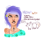 Kailsey Lemonylee by temporaryWizard