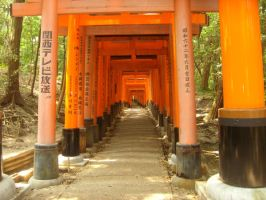 Shrine gates by fighterace2688