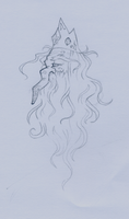 Ice King Doodle by PirateTabby