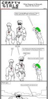 Minecraft Comic: CraftyGirls Pg 20 by TomBoy-Comics