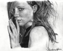 Kate Beckinsale by qchangyao