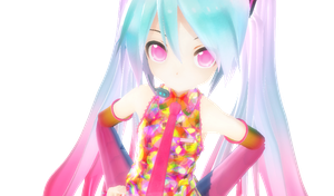 Appearance Tell your World Miku by x-MiharuChan-x
