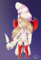 The White Mage Queen by XEmoMidnaX