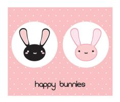 bunnies by pizzaboy-nz