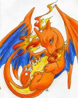 Charizard by griffonsdragons
