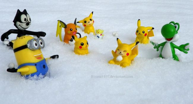 SNOWBALL FIGHT! by Bimmi1111