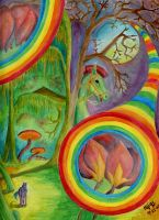 Rainbow Forest by Niji-Only