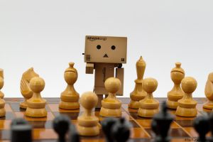 King Danbo plays chess by Funky-Dragon