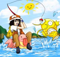Magikarp Hunting by AkatsukiLesson