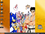 Sega vs. Capcom Desktop by DJWill