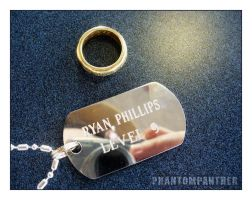 Dog Tag And The One Ring by phantompanther