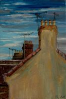 London Roofs by ErynLuin