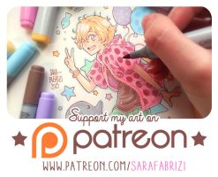 + Support my art on Patreon + by SaraFabrizi