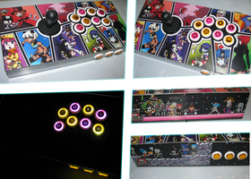 Skullgirls Fightstick by MedleyAssault