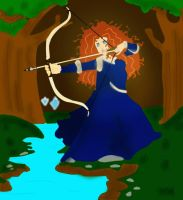 Princess Merida from Brave by BraveMoonGirl