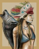 the wolf and her by Tallis