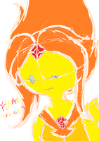 flame princess coloured by daredevil48