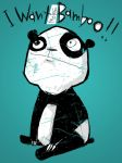 i want more bamboo by peerro