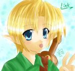 Young Link Painter by kurokumo