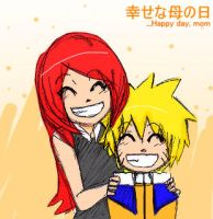 happy mother day...kushina by malengil