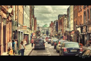 Dublin traffic by Pajunen