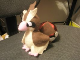 Pidgey Plush by Vulpes-Canis