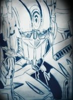 Optimus prime blue by Idigoddpairings