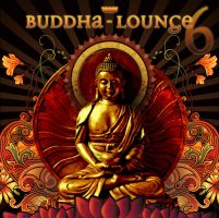 Buddha Lounge cd cover art by zdca
