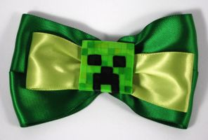 Creeper Bow - Will Not Explode Your Head, Probably by sakkysa