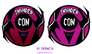 InvaderCON Logo Contest Entry by enigmatia