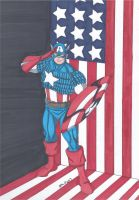 Captain America by RobertMacQuarrie1