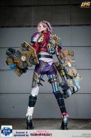 League of Legends: The Piltover Enforcer by KayomiPL