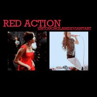 Red Action by untouchglam