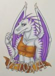 Veloxia Conbadge by Magelet