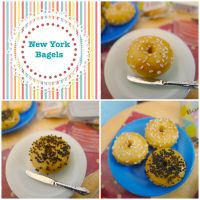 New New York bagels in 1/6 scale by LittlestSweetShop