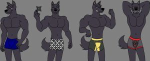 Karasu's Underwear by MetalExveemon
