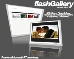 XML Driven-FlashFolio-Gallery by TylerHagan