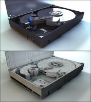 Hard Drive by Tom-3D