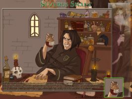 Snape Wallpaper by psycocat
