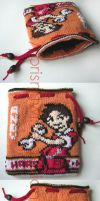 Andy from Advance wars pouch by prismtwine