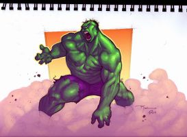Hulk by Rocwell QuickPaint by Ross-A-Campbell