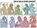 Favourite Characters Meme by petal-elf