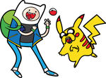 Pokemon Time With Finn And Jake by RobertoJOEL1307