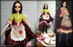 Alice Madness Return Custom OOAK Doll Stage 3 by falinor4eg