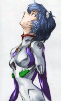 Rei Ayanami by speeddealerbob colored by redayetx