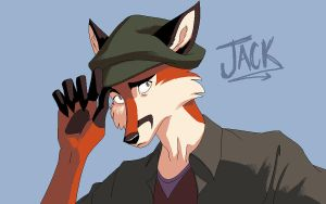 Paint Bust 8: Jack by MadMarchHare