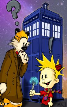 Calvin the Who by Dimfist