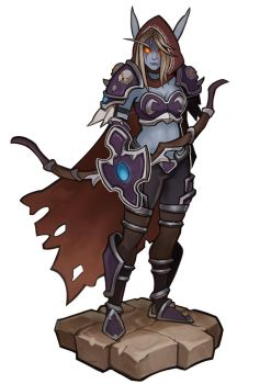 World Of Warcraft, Sylvanas by SplashBrush