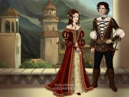 Romeo and Juliet by Yagellonica